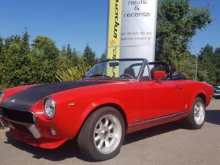 ATLANTIC IMPORT CLASSIC FIAT 124 SPIDER 1800 SPORT ABARTH LOOK